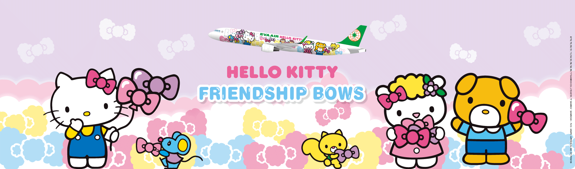Hello Kitty Jet Travels With You Home